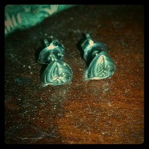 Jewelry - Vintage silver earrings